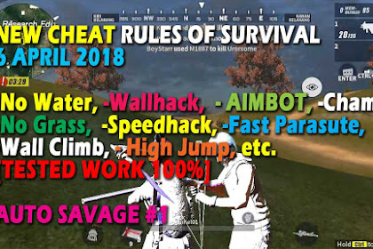 Cheat Rules of Survival Asparagin 5.0 Update 6 April 2018