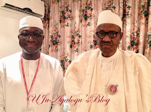 Buhari meets with suspended Reps member, Abdulmumin Jibrin