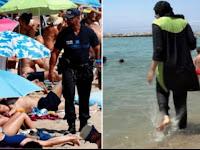Diskriminatif! Berhijab di Pantai Prancis, Wanita ini Dikenakan Denda