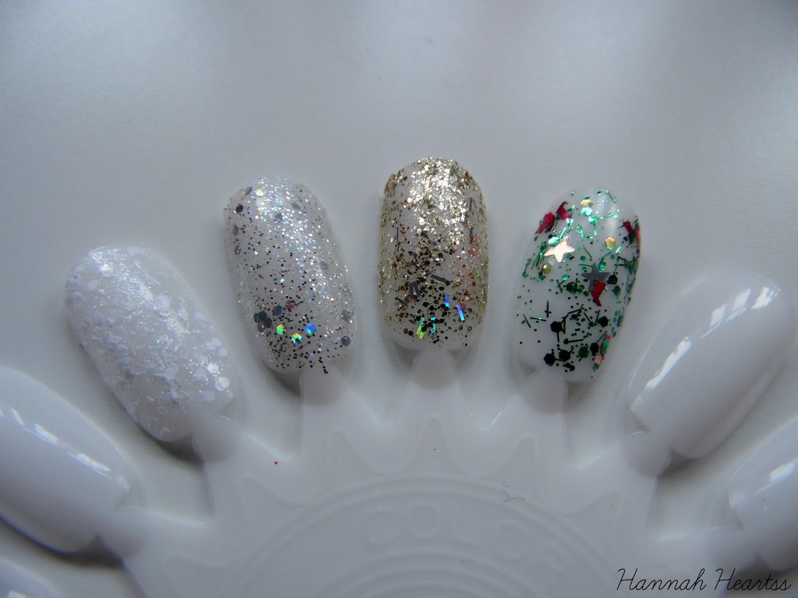 Glitter Nail Polish Swatches