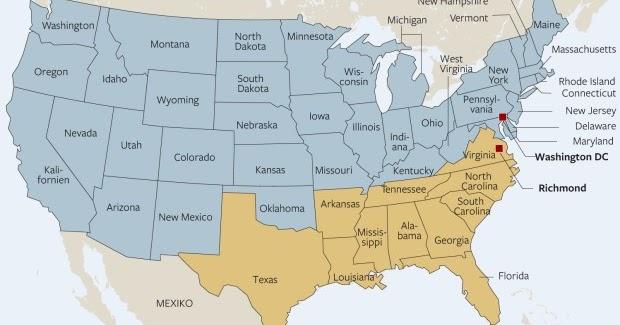 Der Süden der USA