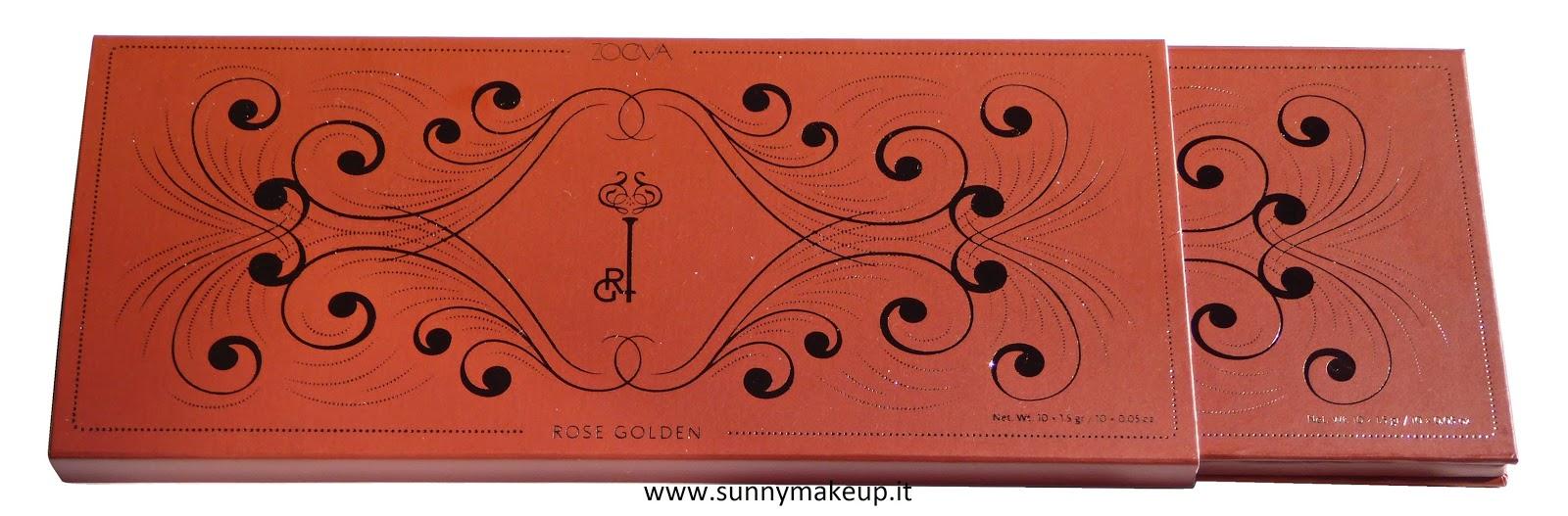 Zoeva - Rose Golden. Palette di ombretti