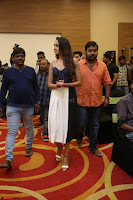 Pragya Jaiswal in Deep neck Gown at Launch of OPPO Phone 136.JPG