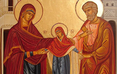 Sts. Joachim and Anne with the Blessed Virgin Mary