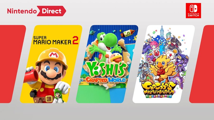 nintendo direct february 2019 switch games