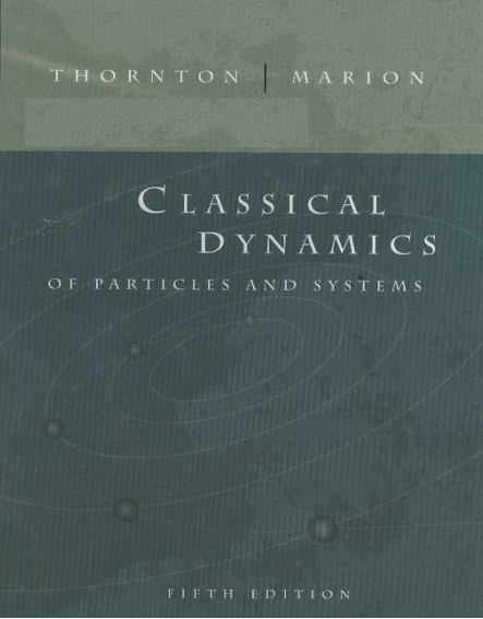 pdf book : Classical Dynamics of Particles and Systems by Marion and