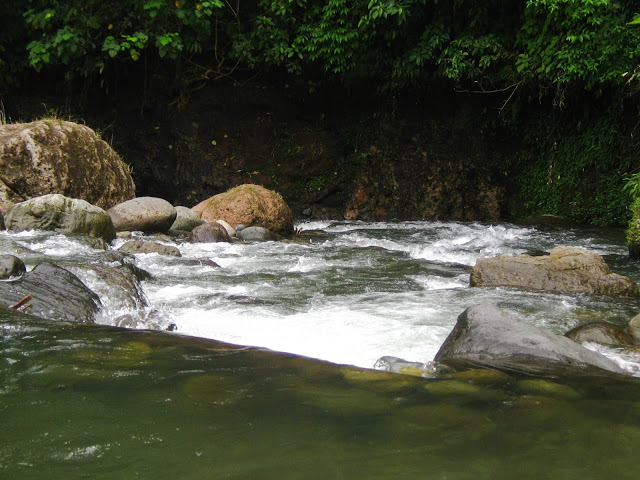 Sembahe known as a tourist destination with a natural river nearby mountain air from Medan