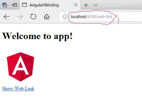 Angular 5 Routing, Configuration and Navigation - Angular