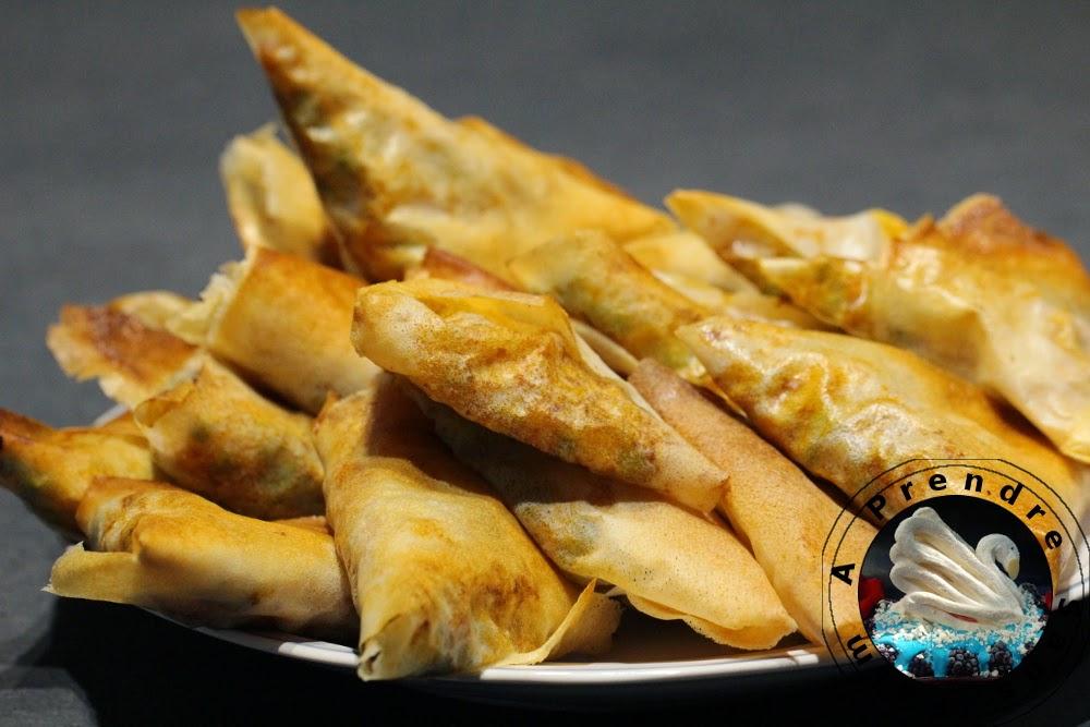 Samoussas aux légumes (pas à pas en photos)