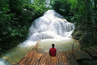 Lokasi air terjun Gedad Banyusoco yang masih asri