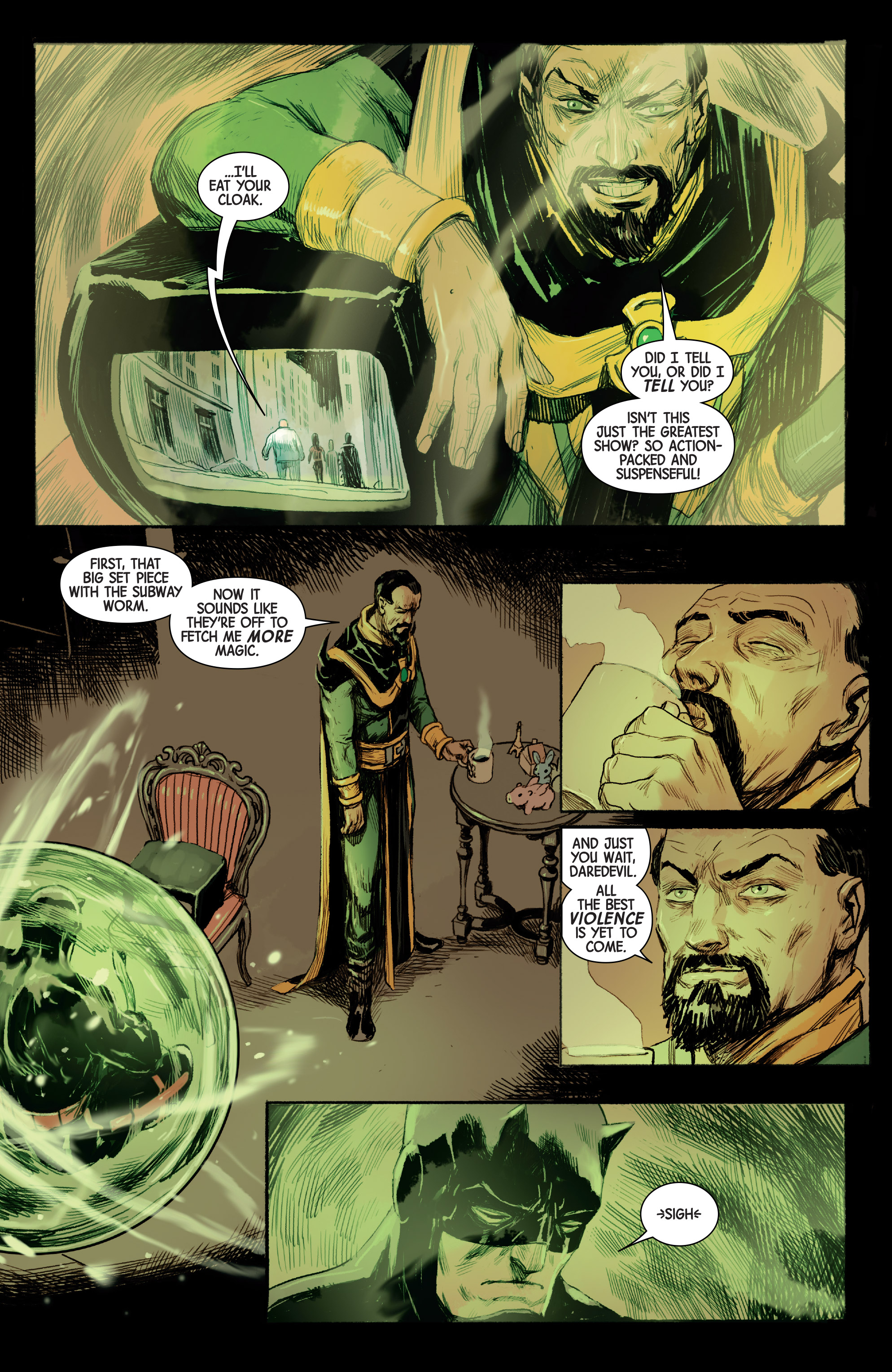 Read online Doctor Strange (2015) comic -  Issue #22 - 12