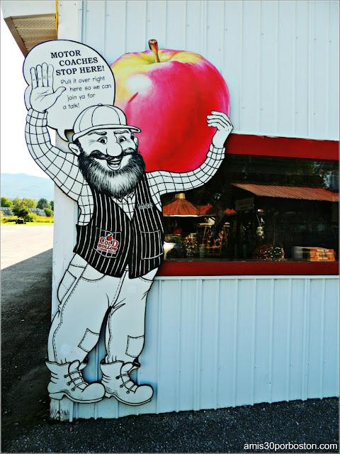 Cafetería de la Fábrica Cold Hollow Cider Mill en Vermont