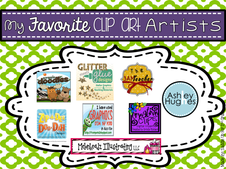 Commercial Graphic Artists to use in TPT Products by Saddle Up For 2nd Grade