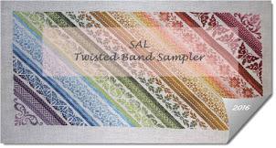 SAL Twisted Band sampler -start