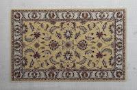 Met de hand getuft tapijt in traditioneel ontwerp