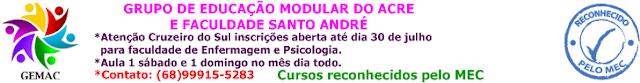 GEMAC: Cruzeiro do Sul agora conta com faculdade de Enfermagem e Psicologia