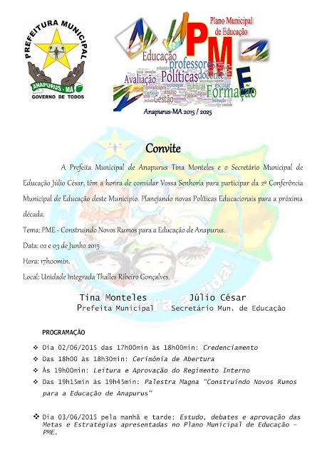 b630363fb73d1 Veja o convite e a programação abaixo