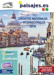 Paisajes Verano 2016 Nacionales e Internacionales
