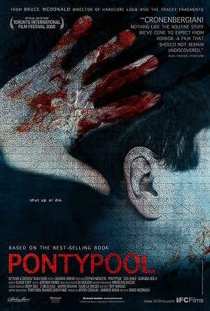 Pontypool - Shut up or Die Filmes Torrent Download capa