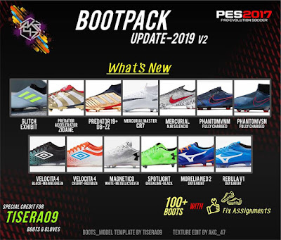PES 2017 Bootpack Update 2019 v2 AIO by AK-RF Mods