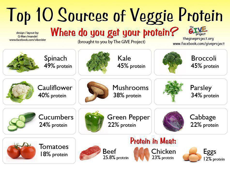 9 High-Protein, Low-Carb Vegetarian Foods