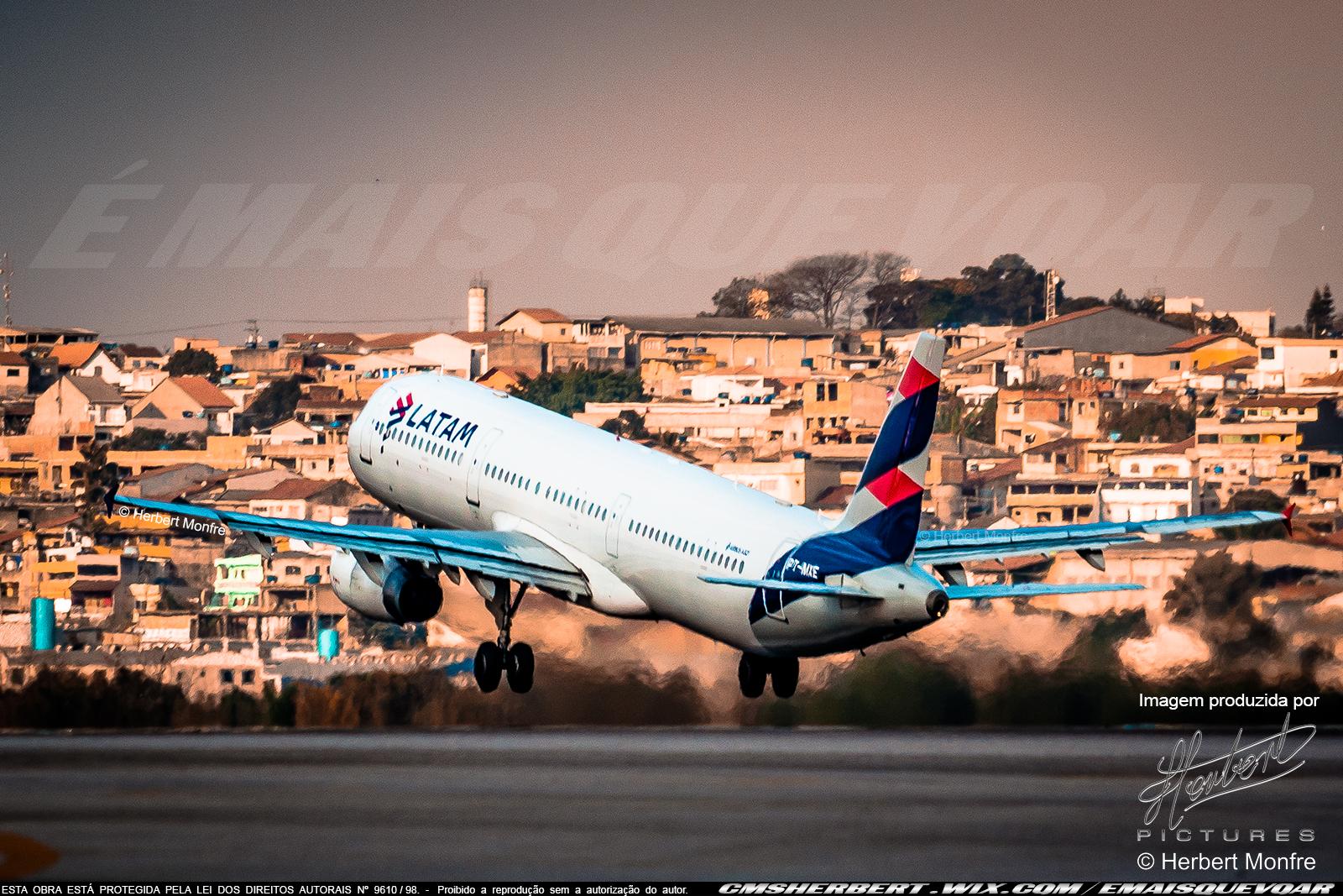 FlightStats apontou LATAM como companhia aérea mais pontual no Brasil em 2019   Foto © Herbert Monfre - É MAIS QUE VOAR