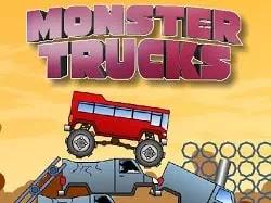 Canavar Kamyon Zorlukları - Monster Trucks Challenge