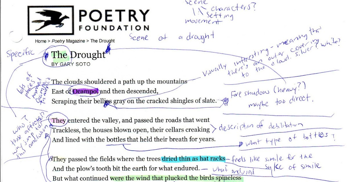 Reading, Writing & Analyzing Poetry: Study Tips for Students With Examples