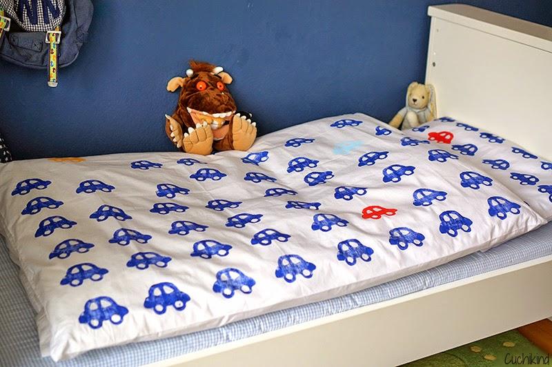 Cuchikind - Der Mama-DIY-Blog: Kinderzimmer-DIY #1: Bettwäsche ...
