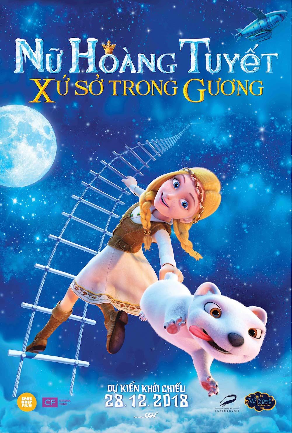 Xem Phim Nữ Hoàng Tuyết: Xứ Sở Trong Gương