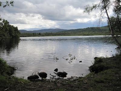 The crannog on Loch Kinord