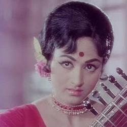 Bharathi in young