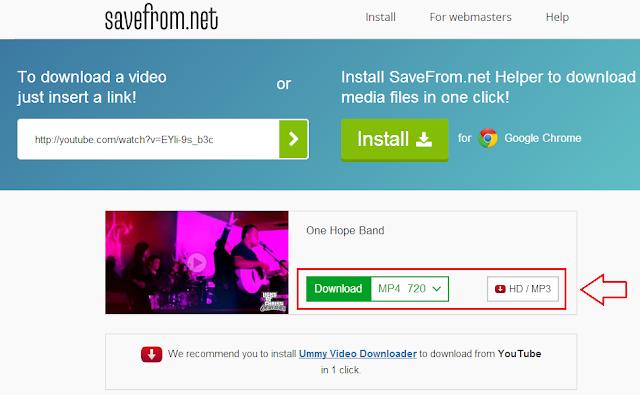 Cara download youtube menjadi mp3 tanpa aplikasi | Cara