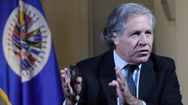 Almagro: Lucena ha sido un instrumento en el derrumbe institucional de Venezuela (Vídeo)