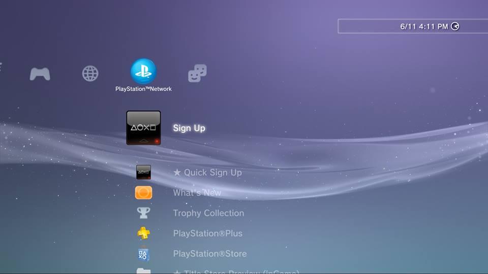 Cara membuat account PSN gratis PS3 (Sign Up PSN PS3)