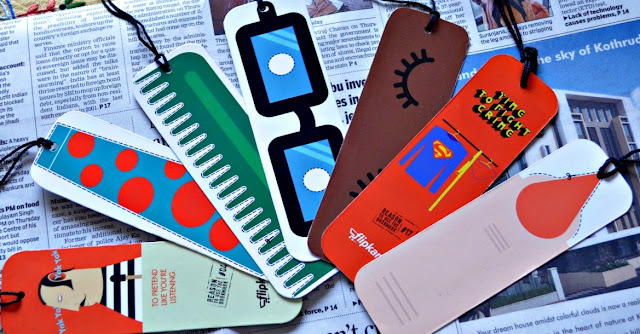 Flipkark Bookmarks - Quirky, Silly, Stylish