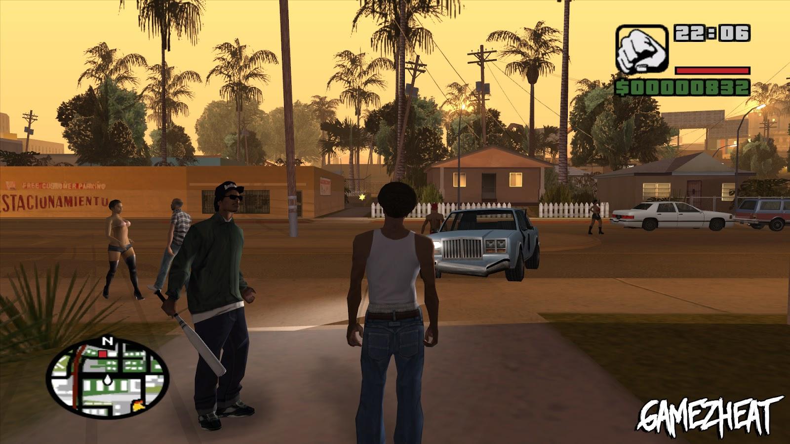 GTA San Andreas PC Game Free Download |