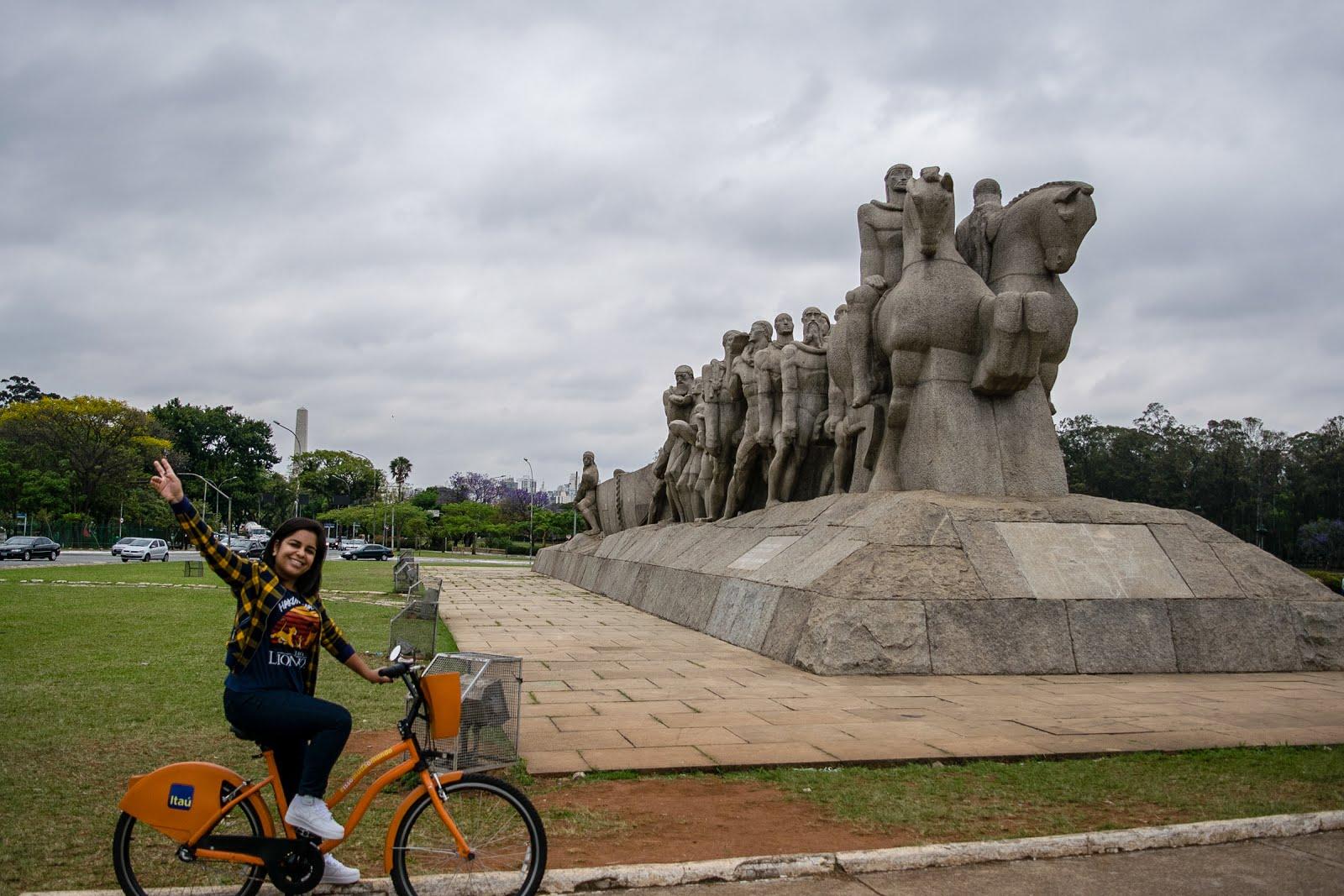 Sao Paulo ibirapuera bike