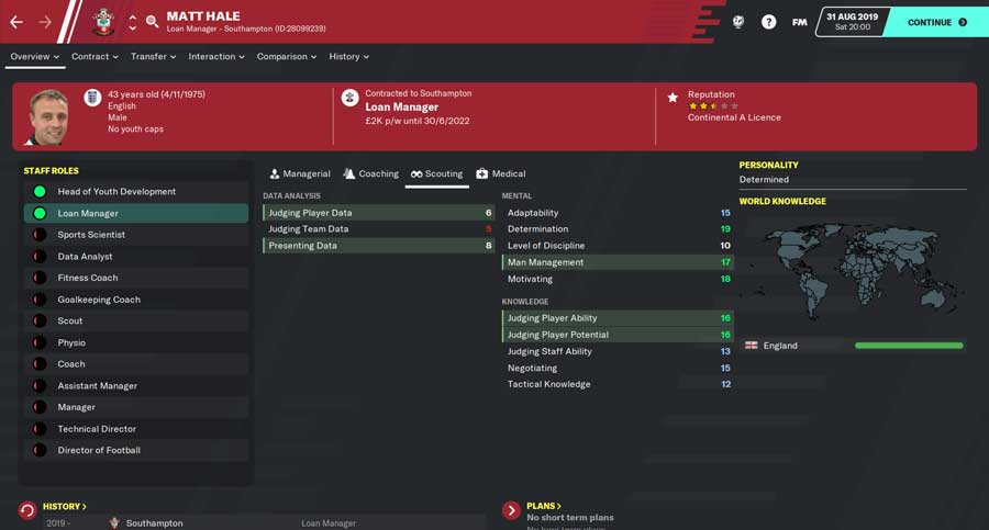 Football Manager 2020 Loan Manager FM20