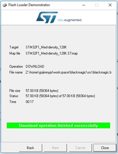 GoJimmyPi: Converting a Blue Pill STM32F103 board to a Black