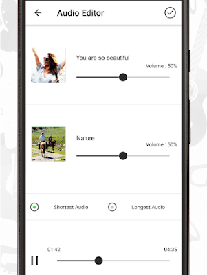 برنامج تعديل الصوت واضافة مؤثرات, تطبيق تحرير الصوت للاندرويد