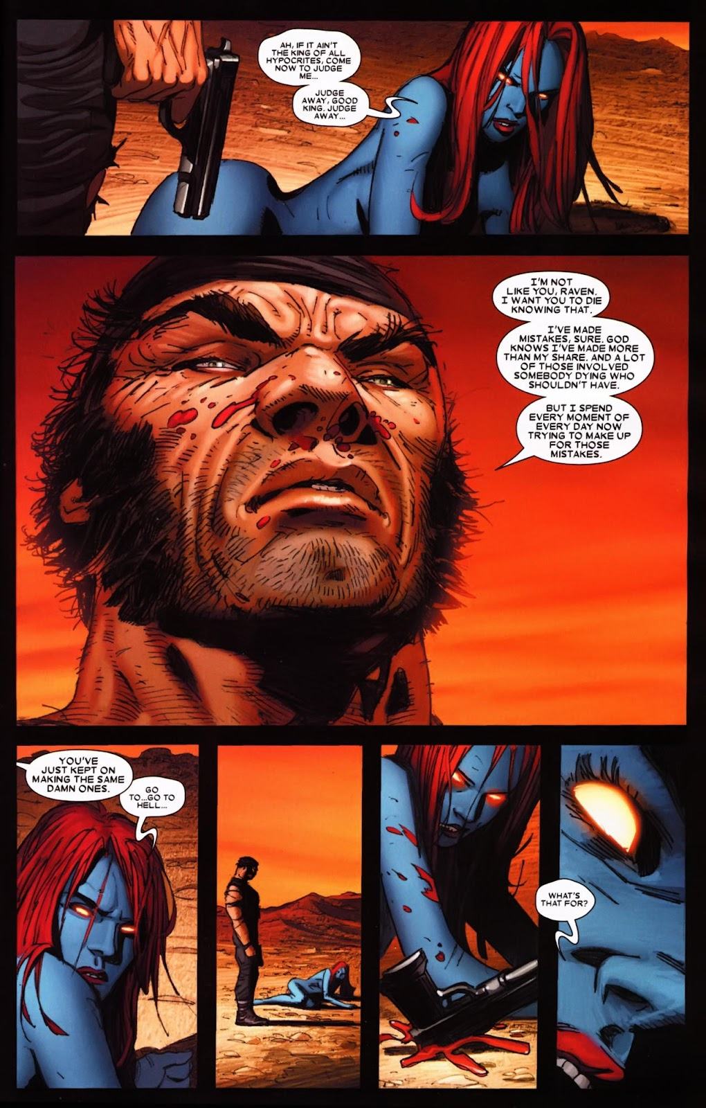 Read online Wolverine (2003) comic -  Issue #65 - 23