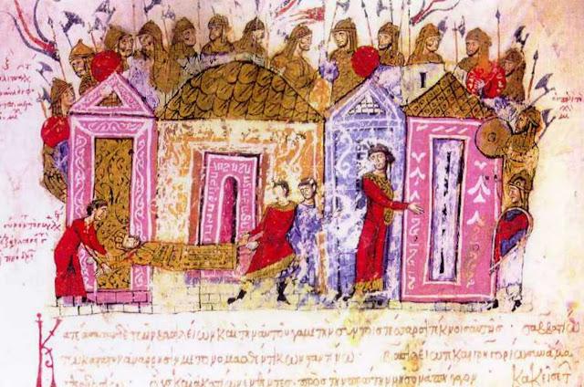 When the Vikings met the Greeks