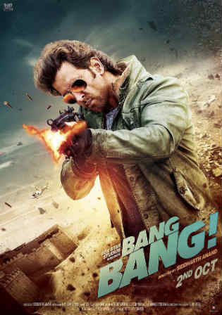 Bang Bang 2014 BluRay 900MB Full Hindi Movie Download 720p Watch Online Free bolly4u