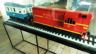 Maquete de Vagão no Museu do Trem, São Leopoldo