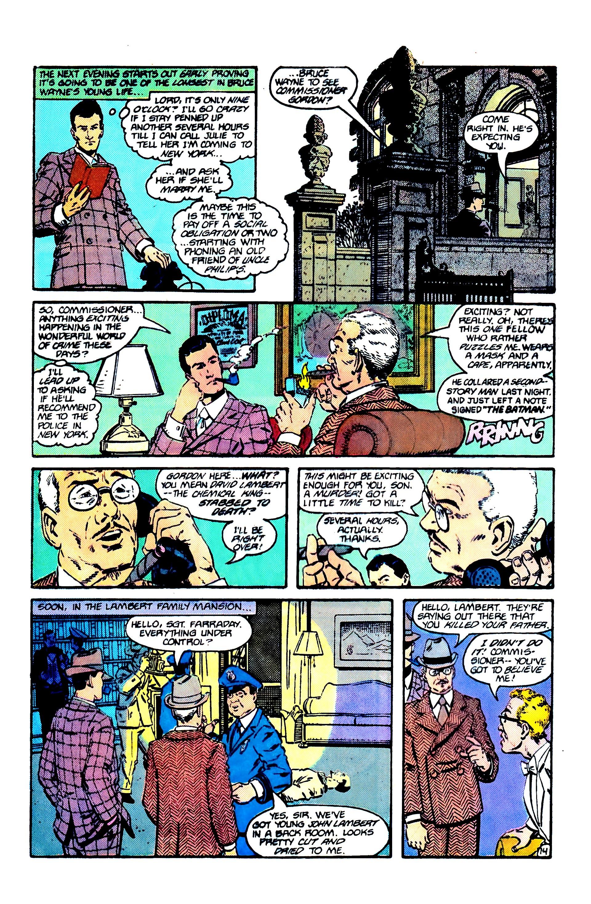 Read online Secret Origins (1986) comic -  Issue #6 - 16