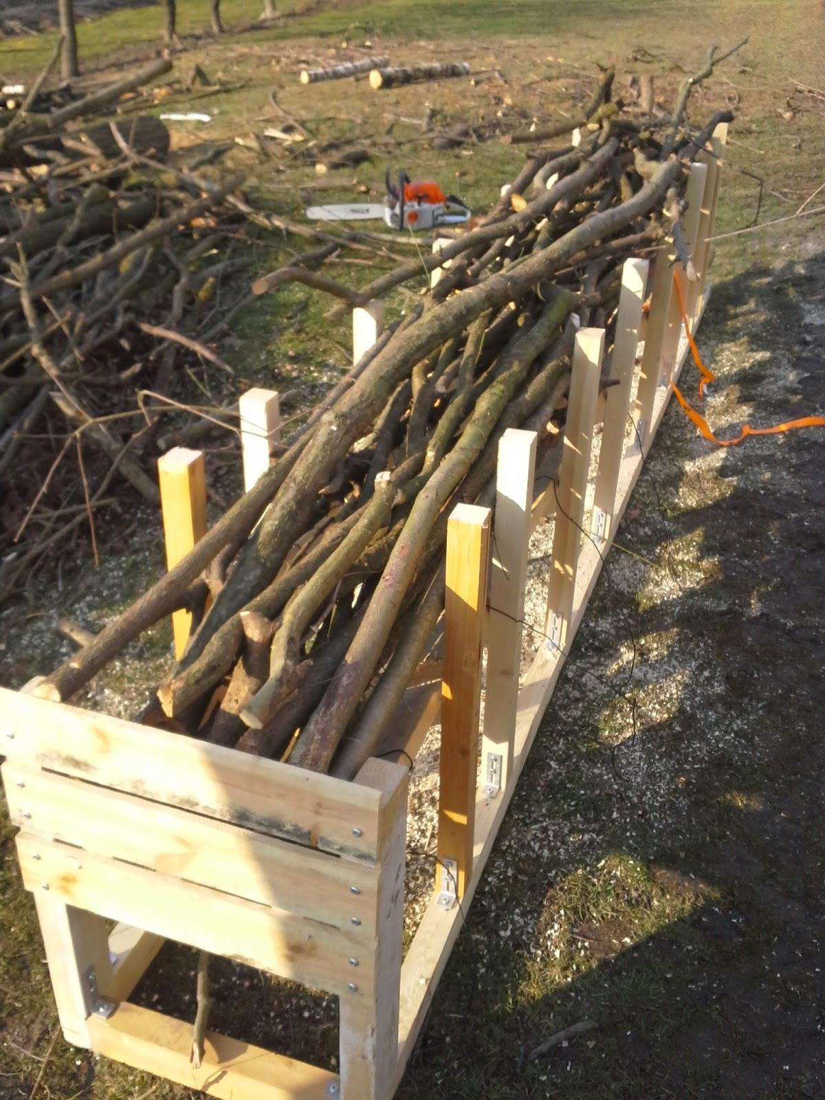 Super Holz, Metall und Smart Home: Kleinholz/Brennholz schneiden #AE_58