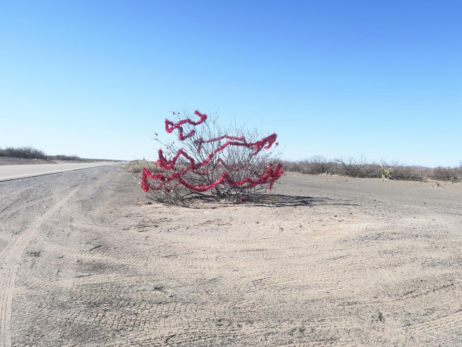 Living Rootless: El Paso 2019 to Columbus NM: Highway 9: Red