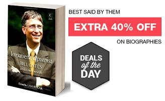 Deal of the Day: Flat 40% Extra Off on Achievers Biogrpahies at Flipkart