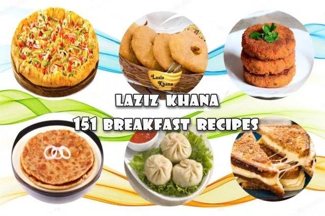 151 नाश्ता रेसिपीज इन हिंदी – 151 Breakfast Recipes in Hindi